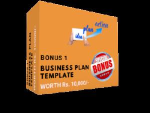 Bonus 2 - Business Plan Template