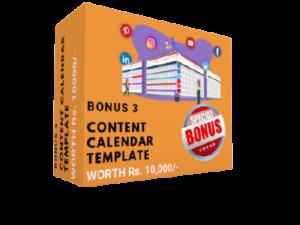 Bonus 3 - Content Calendar Template